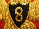 8 ème hussard, Empire, major - Sabretache