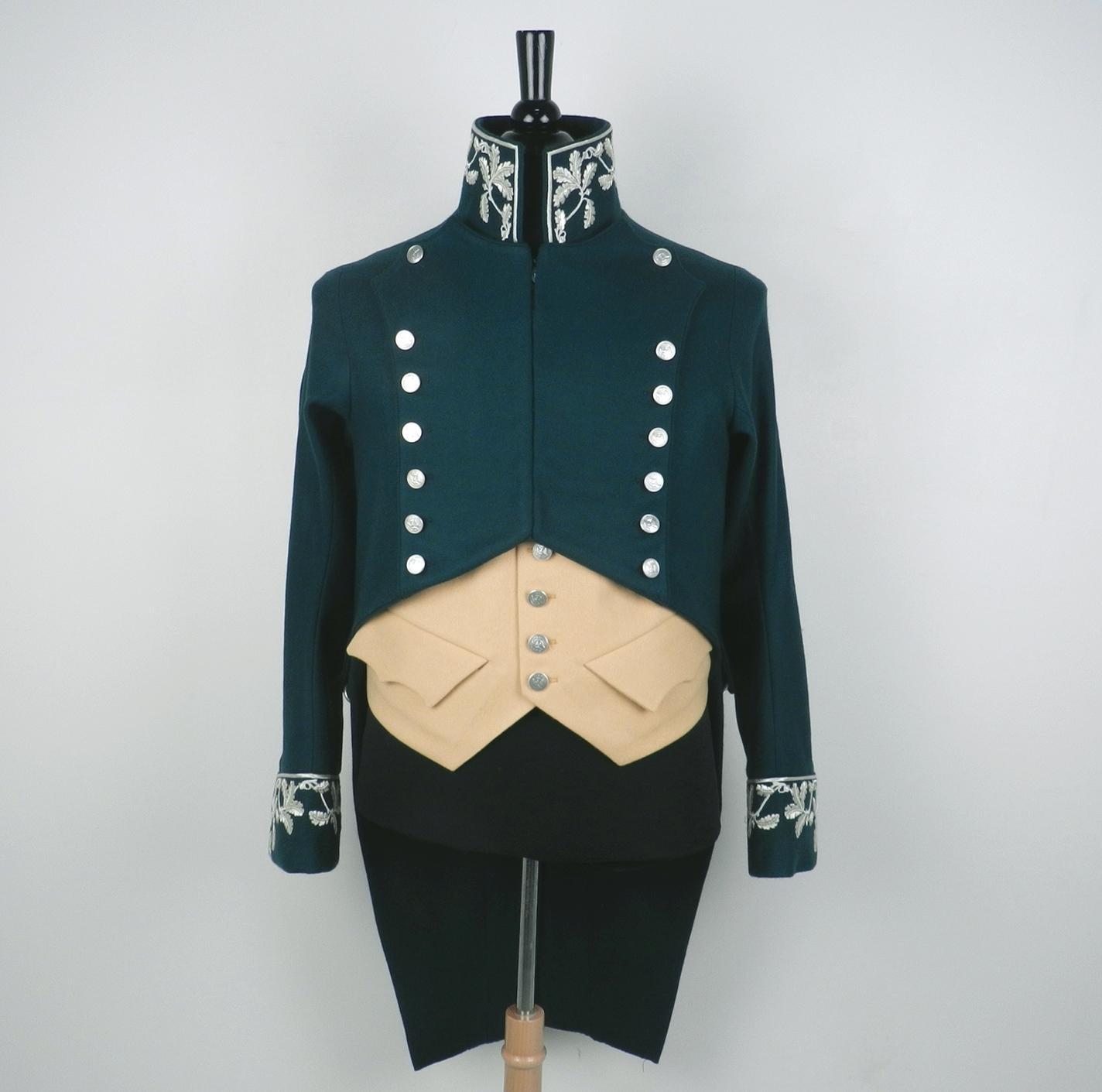 Antikcostume uniforme d 39 inspecteur des eaux et for ts for Eaux et forets
