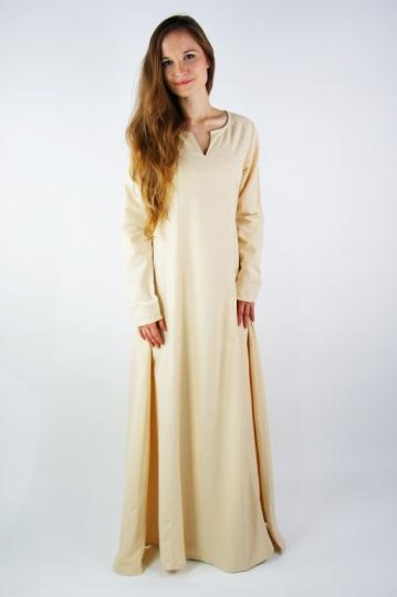 Lina - Robe simple manches longues